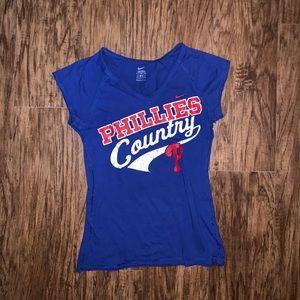 Nike Womens Phillies Shirt